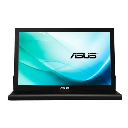 Asus MB169B+ 15.6 inch Widescreen 700:1 14ms USB LED LCD Monitor (Silver+Black)