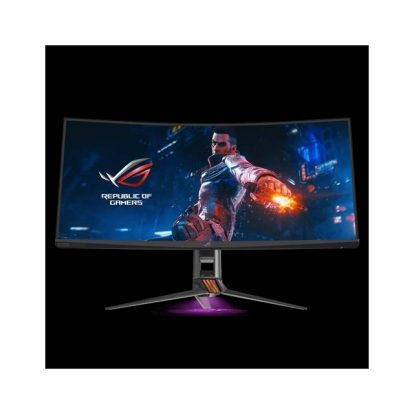 ASUS PG35VQ 35 inch Widescreen 2500:1 2ms HDMI/DisplayPort/USB LED LCD Monitor, w/ Speakers