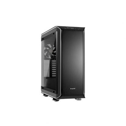 be quiet! Dark Base PRO 900 SILVER rev.2 Full-Tower ATX Computer Case w/ Window, 3 Silent Wings 3 Fans, RGB LED's (BGW16)