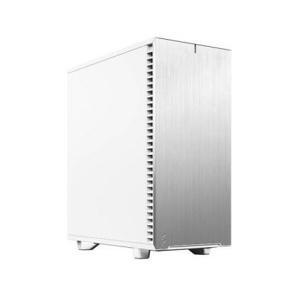 Fractal Design Define 7 FD-C-DEF7C-05 Compact White Brushed Aluminum/Steel ATX Compact Silent Mid Tower Computer Case