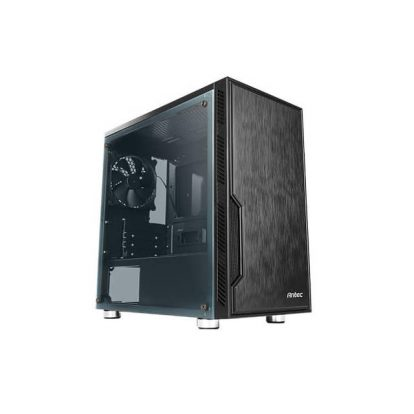Antec Value Solution Series VSK10 Window, Highly Functional Micro-ATX Case, 280 mm Radiator Support, 4 x 140 mm Fans Support