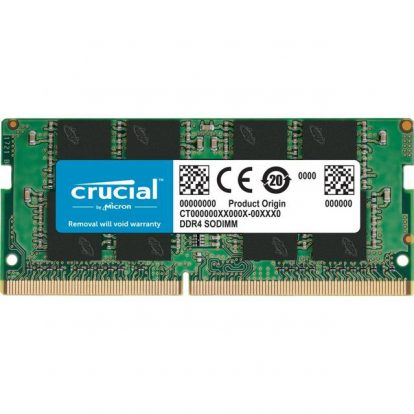 Crucial DDR4-2666 SODIMM 4GB/512Mx64 CL19 Notebook Memory