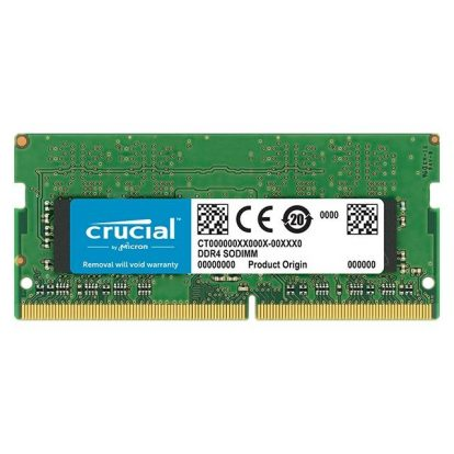 Crucial CT4G4SFS8266 DDR4-2666 SODIMM 4GB/512Mx64 CL19 Notebook Memory