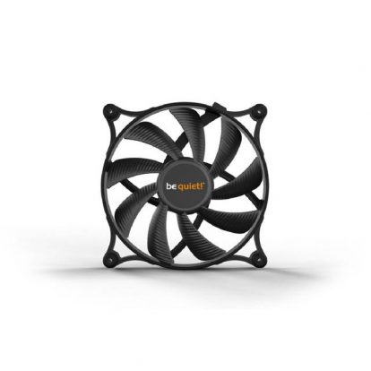 be quiet! Shadow Wings 2 140mm PWM, Silent Computer Fans, Low Noise Operation, rubber fan frame, designed in Germany