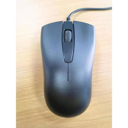 iMicro MO-1190 Wired USB Optical Mouse (Black)