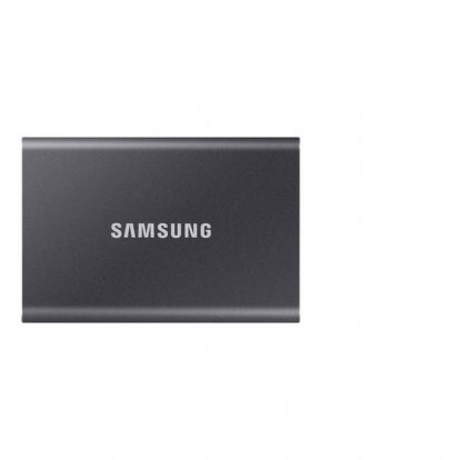 Samsung T7 Touch 500GB USB 3.2 Portable Solid State Drive (Gray)