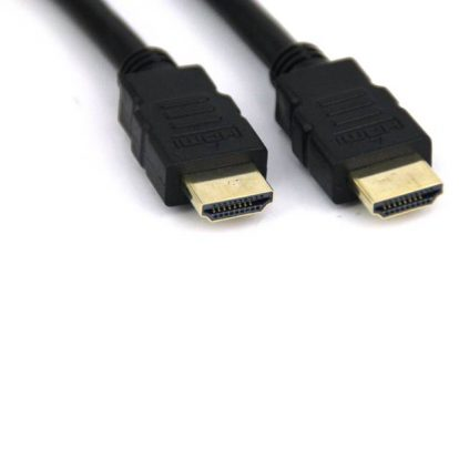 iMicro ST-HDMI15M 15ft HDMI Type A Male to HDMI Type A Cable w/ HDMI v1.4 (Black)