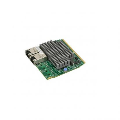 Supermicro AOC-MTG-I2TM Dual-port 10 Gigabit Ethernet Adapter (for Twin Systems)