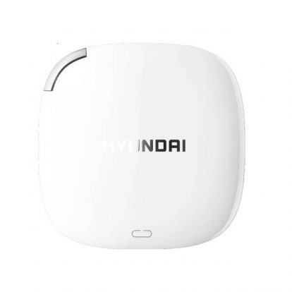 Hyundai HTESD250PW 256GB External Solid State Drive (Pearl White)