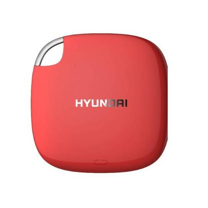 Hyundai HTESD250R 256GB External Solid State Drive (Candy Apple Red)