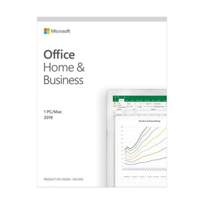 Microsoft Office Home and Business 2019/ 1 PC or Mac/ Windows 10 or MacOS