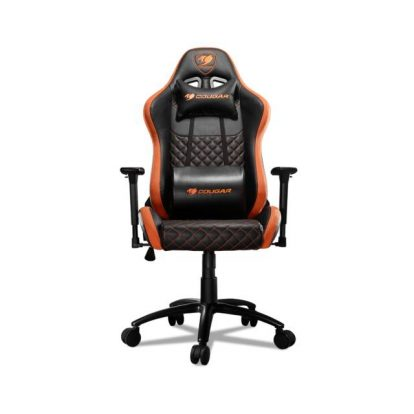 COUGAR ARMOR RPO Swivelling Gaming Chair with Suede-Like Texture,Body-embracing High Back Design,Breathable Premium PVC Leather